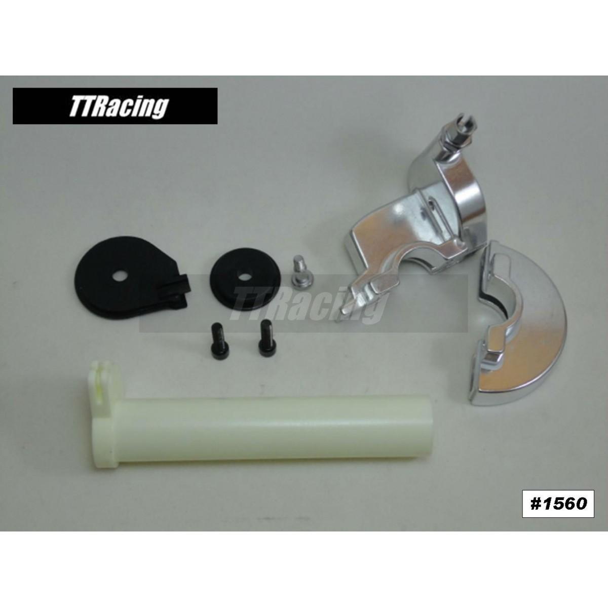 Acelerador Punho Rápido Corpo Em Alumínio  - T & T Soluções