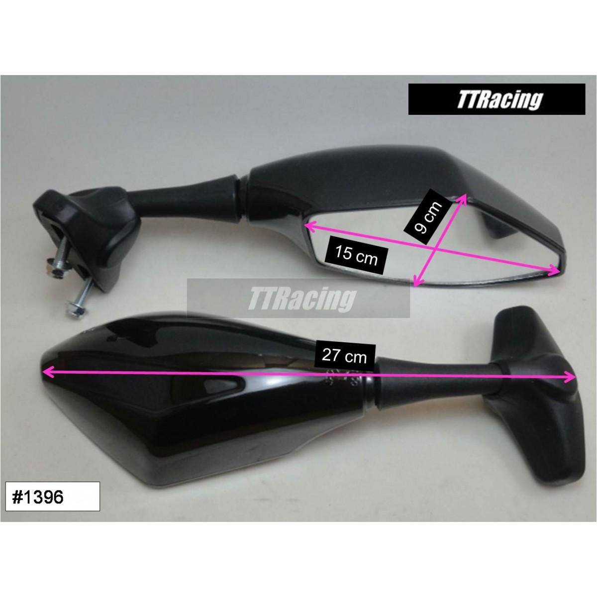 Espelho retrovisor CBR600RR GSXR NINJA R6  - T & T Soluções