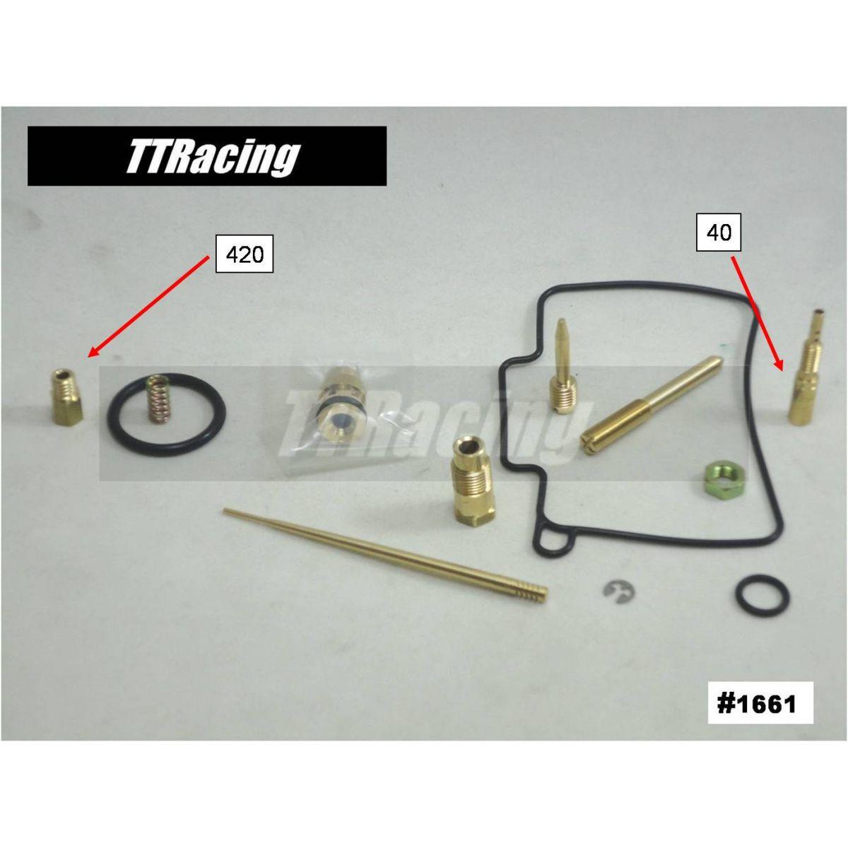 Reparo Carburador Mikuni Coração Com Difusor  - T & T Soluções