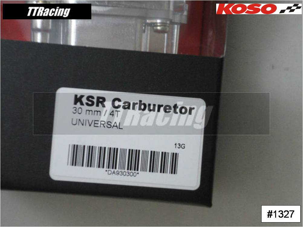 Carburador KOSO 30mm com POWER JET  - T & T Soluções