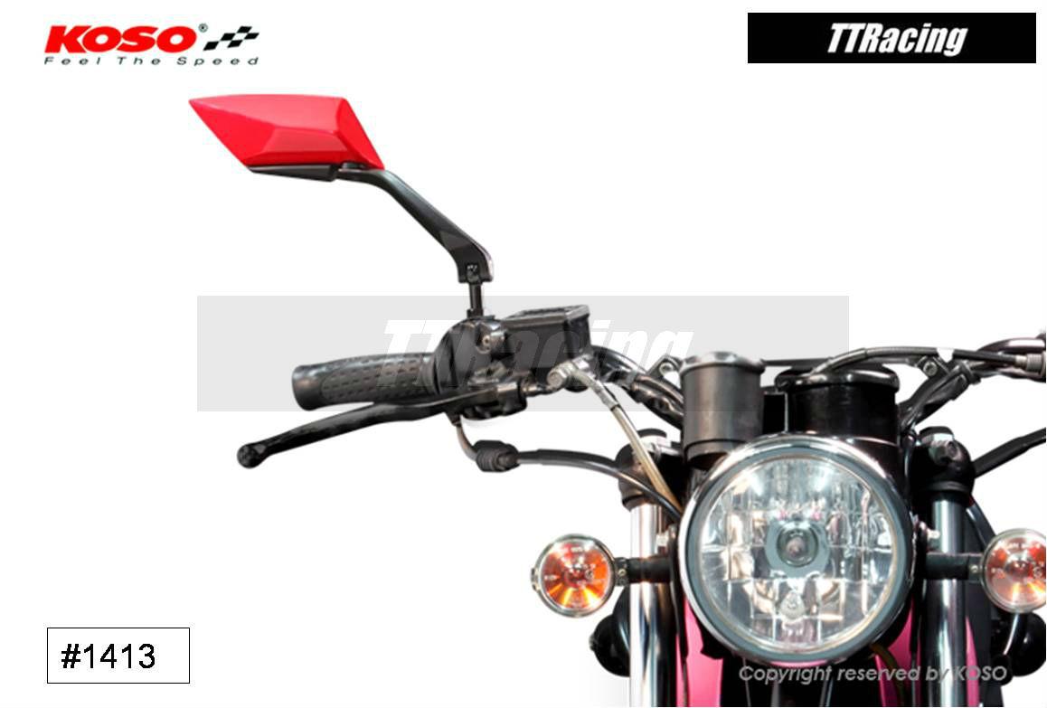 Espelho retrovisor KOSO modelo TT STYLE  - T & T Soluções