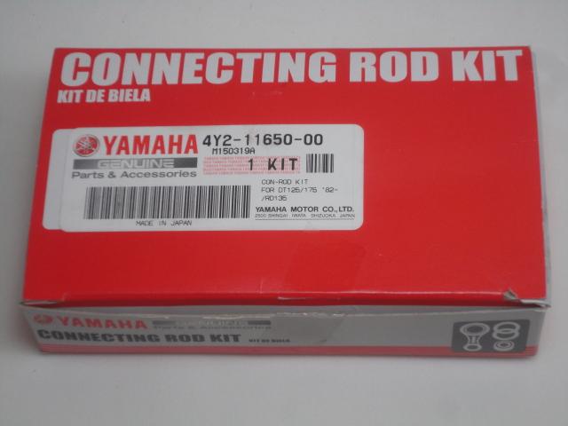 KIT BIELA RD135 ORIGINAL YAMAHA  - T & T Soluções