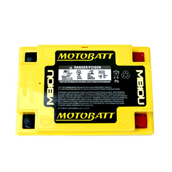 Bateria MOTOBATT MB10U  - T & T Soluções