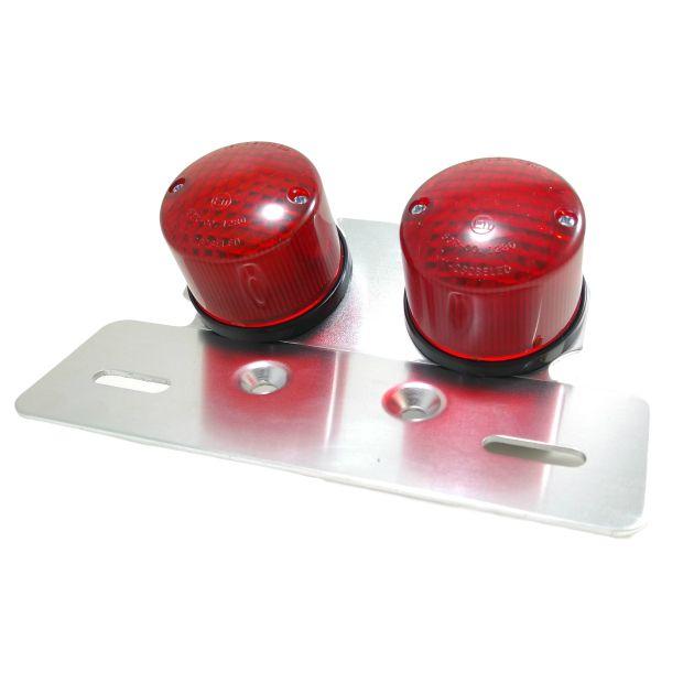 Lanterna Sinaleira Com Suporte Café Racer Bobber Custom   - T & T Soluções