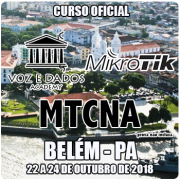 Belém - PA - Curso e Certificação Oficial Mikrotik - MTCNA