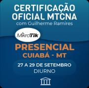 Certificação Oficial Mikrotik - MTCNA com Guilherme Ramires - PRESENCIAL