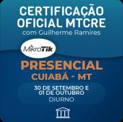 Certificação Oficial Mikrotik - MTCRE com Guilherme Ramires - PRESENCIAL