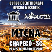 Chapecó - SC - Curso e Certificação Oficial Mikrotik - MTCNA