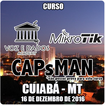Cuiabá - MT - Curso Oficial de CAPsMAN  - Voz e Dados