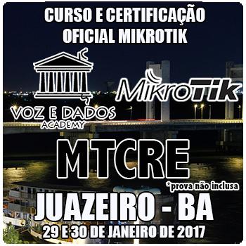 Juazeiro - BA - Curso e Certificação Oficial Mikrotik MTCRE