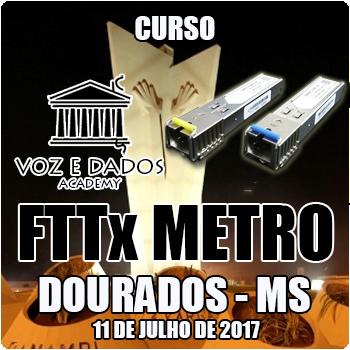 Dourados - MS - Curso de FTTx Metro