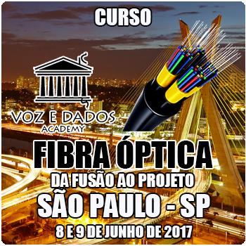 São Paulo - SP - Curso Fibra Óptica: da Fusão ao Projeto