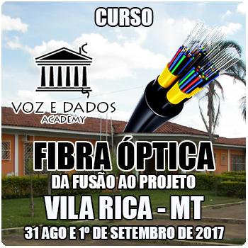 Vila Rica - MT - Curso Fibra Óptica: da Fusão ao Projeto  - Voz e Dados