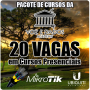 Pacote 20 Vagas