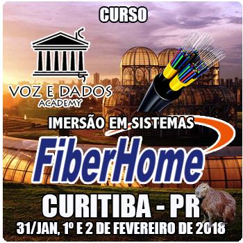 Curitiba - PR - Imersão em Sistemas FiberHome