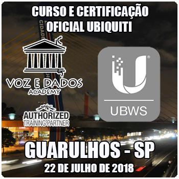 Guarulhos - SP - Curso e Certificação Oficial Ubiquiti - UBWS