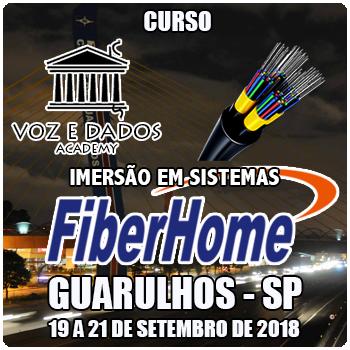 Guarulhos - SP - Imersão em Sistemas FiberHome  - Voz e Dados