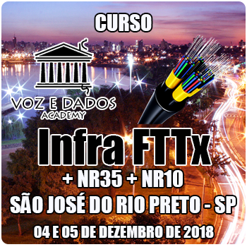 São José do Rio Preto - SP - Curso Infra FTTx + NR35 + NR10