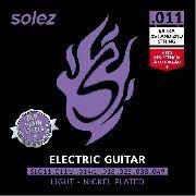 Encordoamento para Guitarra Solez SLG11 011-049