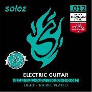 Encordoamento para Guitarra Solez 012