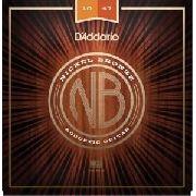 Encordoamento D'addario para Violão Aço NB1047 010-047