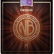 Encordoamento Daddario para Violão Aço NB1152 011-052