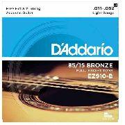 Encordoamento D'addario Violão Aço EZ910B 011-052
