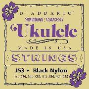 Encordoamento D'addario J53 para Ukulele Concerto