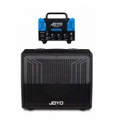 Amplificador Valvulado Joyo Bantamp Bluejay e Caixa Bantcab