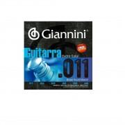 Encordoamento Giannini GEEGST11 011 para Guitarra