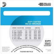 Encordoamento D'addario Violão Aço EXP11  012-053