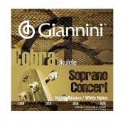 Encordoamento Giannini Cobra para Ukulele Soprano ou Concert
