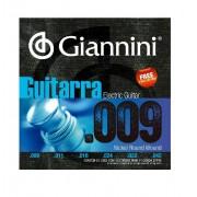 Encordoamento Giannini GEEGST9 009 para Guitarra