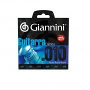 Encordoamento Giannini GEEGST10  010 para Guitarra