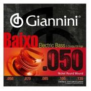 Encordoamento Giannini Para Contra Baixo 5 Cordas 050