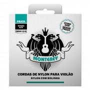 Encordoamento Monterey Violão Nylon EMVN10B com Bolinha