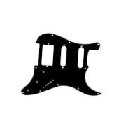 Escudo Dolphin Strato HSS Preto