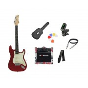 Kit Guitarra Tagima Woodstock TG500 CA Strato  G30 London