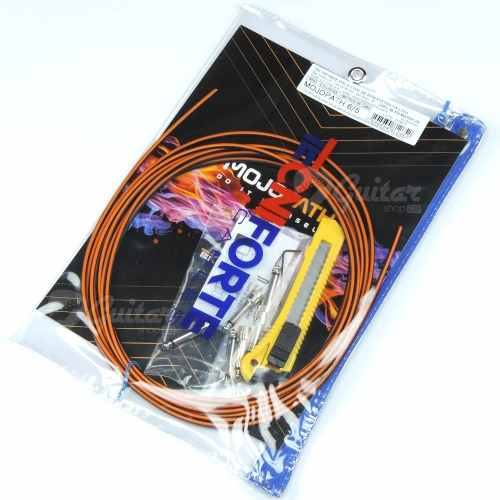 Kit de cabos para pedais Tecniforte Mojo Patch 6/5 MP65