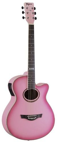 Violão Eletro Acustico Tagima Dallas Pink