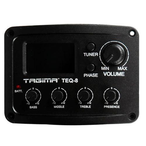 Violão Tagima Kansas XII 12 Cordas Eletro Acústico Preto
