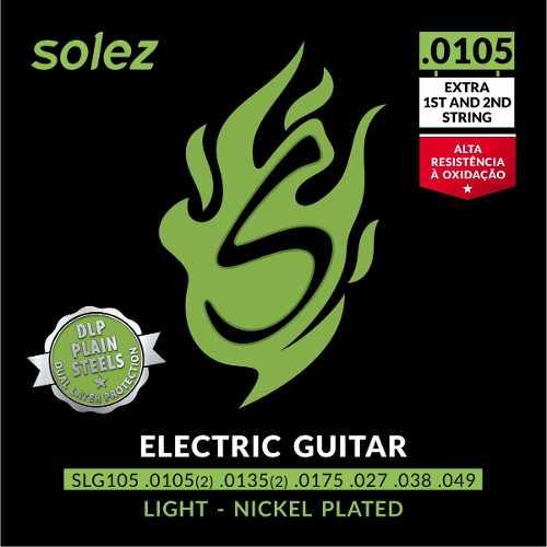 Encordoamento Híbrido Guitarra Solez SLG105 10,5