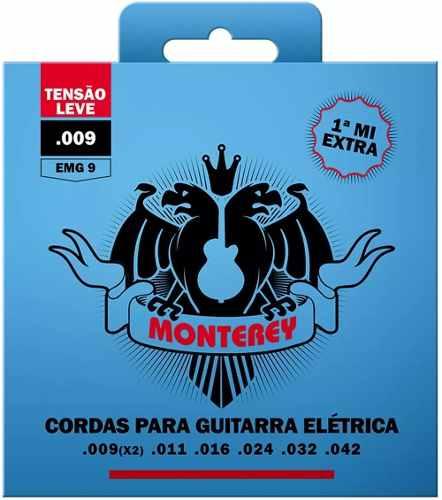 Encordoamento Para Guitarra Monterey EMG9   009