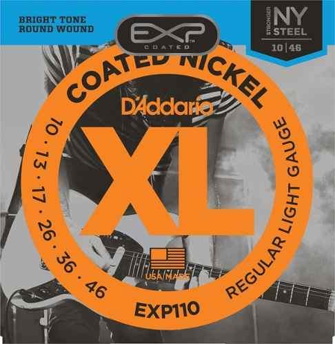 Encordoamento Daddario para Guitarra EXP110  010-046