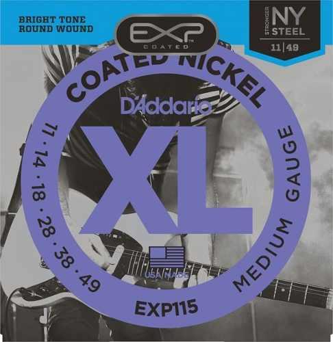 Encordoamento Daddario para Guitarra EXP115  011-049