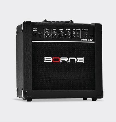 Amplificador Borne para Guitarra G30 Preto