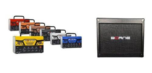 Amplificador Borne Mob T30 para Guitarra com Caixa MOB 112