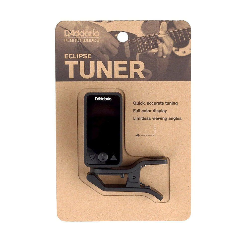 Afinador de Clipe Planet Waves Eclipse PW-CT-17 Preto