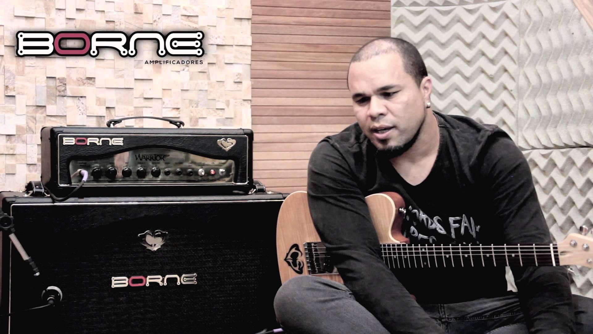 Amplificador Borne Warrior Cacau Santos BK