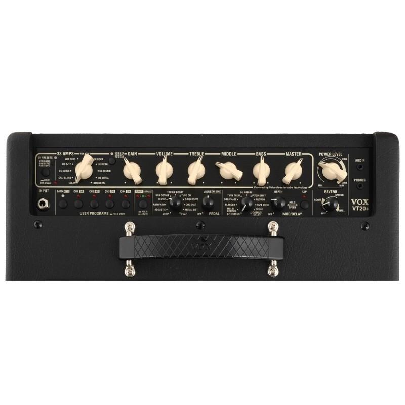 Amplificador Vox Valvetronix Classic VT20+CL